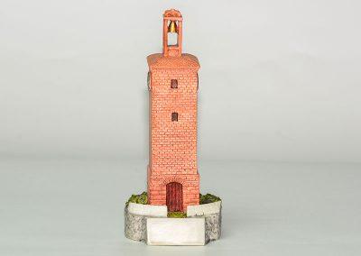 Torre del Reloj de Camponaraya. Resina.
