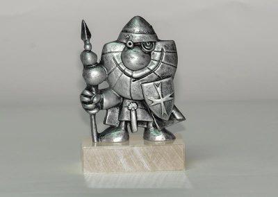 Templarín de Ponferrada. Resina.