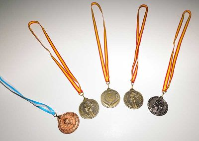Medallas. Metal.